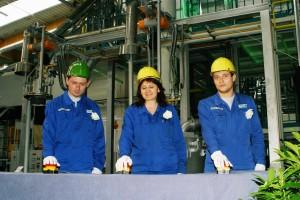 TDDK - Produktionsstart Gießerei