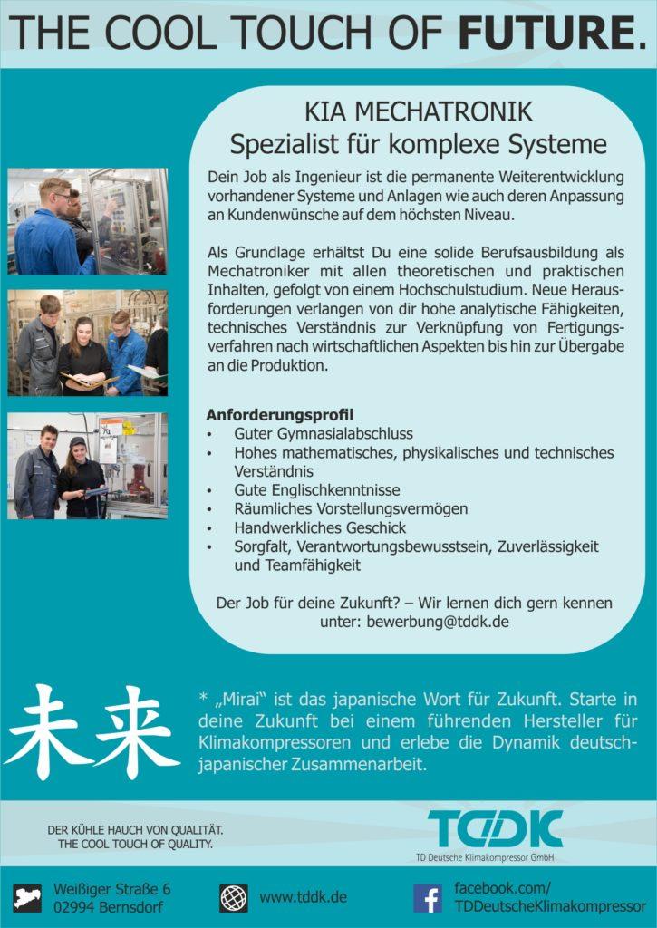 Studium Kiamechatronik Td Deutsche Klimakompressor Gmbh