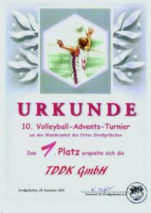 TDDK - Adventsturnier 2014