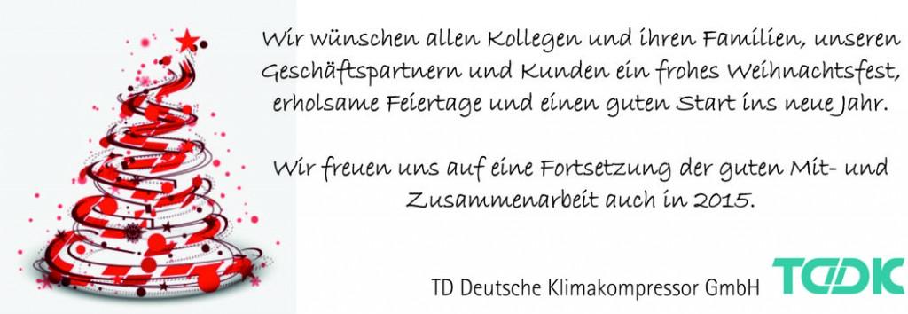 TDDK - Frohe Weihnacht!