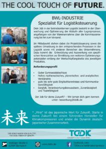 TDDK - The cool touch of future - technische Ausbildung bei TDDK
