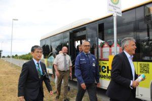 TDDK - Beiträge - Eröffnung Bushaltestelle