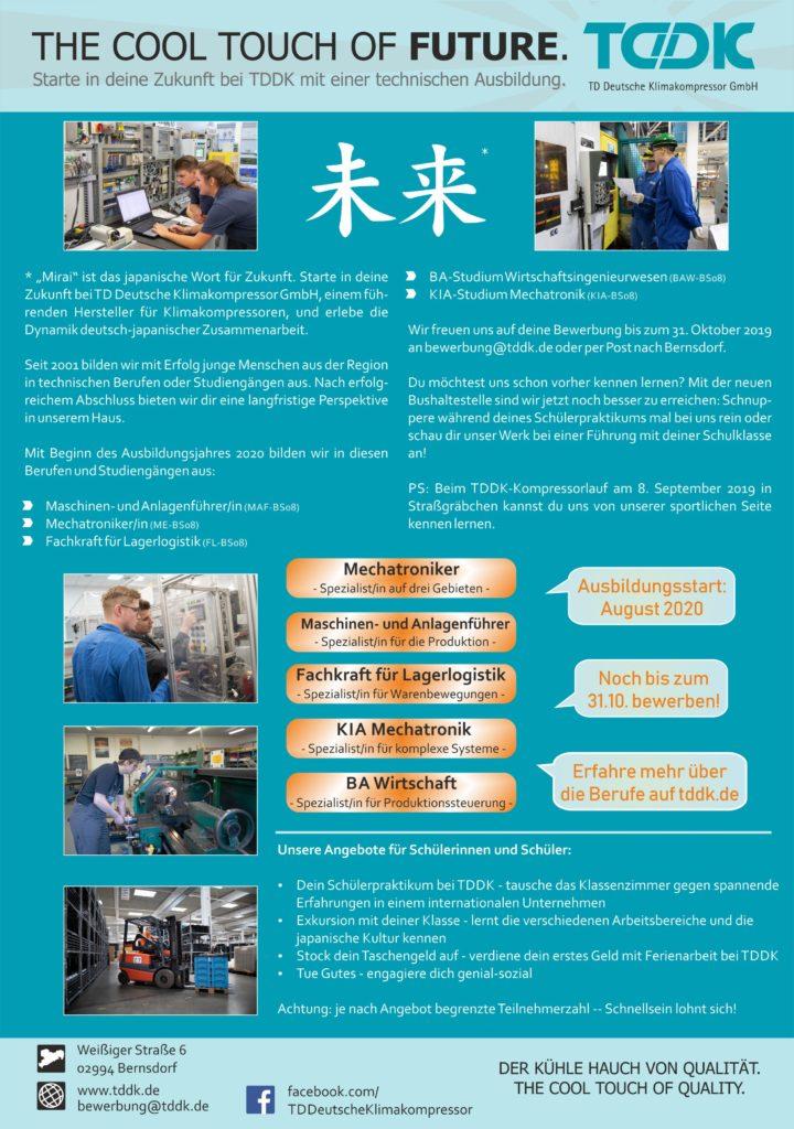 TDDK - Ausbildung & Studium - Angebote 2020
