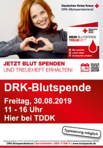 TDDK - Beiträge - Blutspendetag 2019