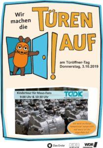 TDDK - Beiträge - Maus-Türöffner-Tag 2019