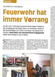 TDDK - Beiträge - Zusammenarbeit TDDK & Feuerwehr