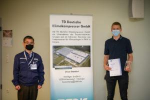 TDDK - Studium & Ausbildung - Auszeichnung des landesbesten Mechatronikers