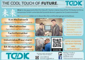 TDDK - Studium & Ausbildung - Ausbildungsplätze ab Sommer 2022