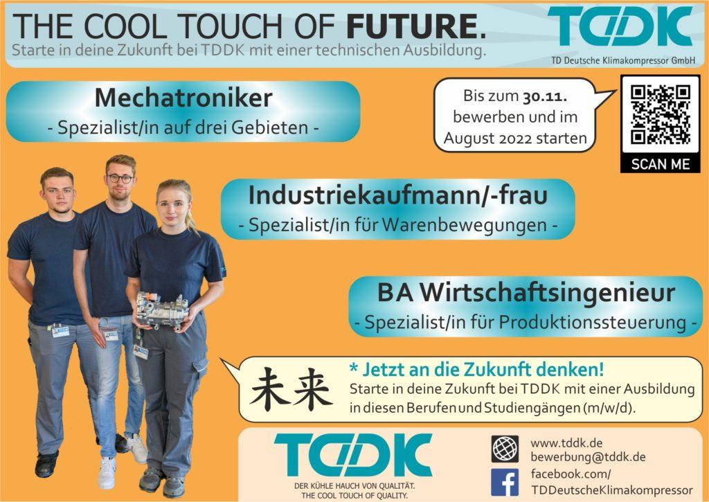 TDDK - Ausbildung & Studium - Ausbildungsplätze fuür 2022